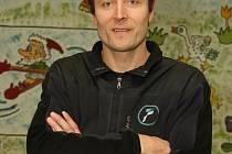 Bývalý československý a český reprezentant, trenér a mezinárodní rozhodčí Petr Hedbávný.