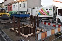 Podzemní kontejnery na Burianově náměstí v brněnských Žabovřeskách. Ilustrační foto.