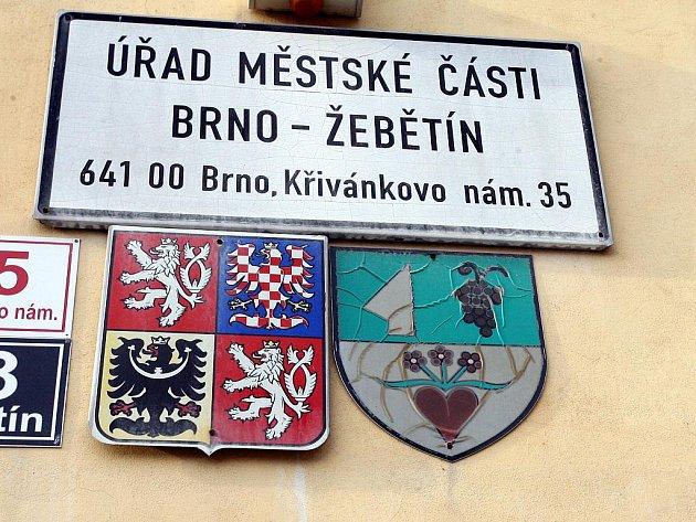 Radnice v Žebětíně. Ilustrační fotografie.