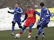 1. FC Brno v souboji s olomouckou Sigmou.