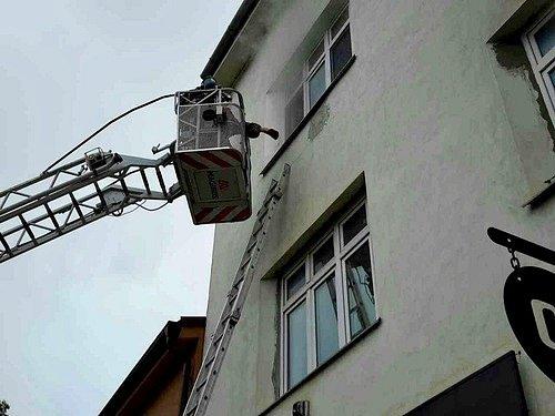 Požár v Maloměřicích.