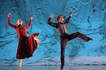V baletu Zjasněná noc na choreografii Ralfa Dörnera zatančí Jan Fousek a Andrea Smejkalová.