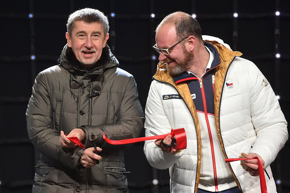 Zahájení Olympijského festivalu v Olympijském parku v areálu brněnského výstaviště.