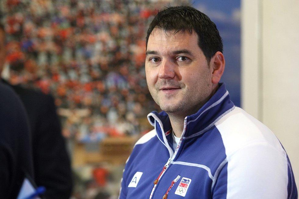 Tisková konference k Olympijskému festivalu 2020 - Jiří Lipták.
