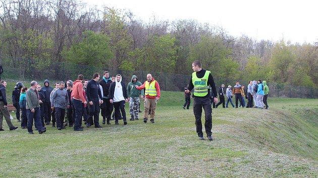 Jihomoravští policisté s moravskoslezskými ve středu v Brně trénovali zásah proti demonstrantům.