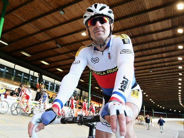 Dráhový cyklista Milan Kadlec.