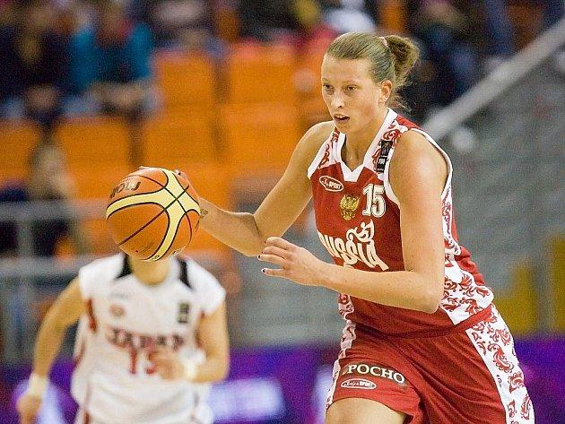 MS v basketbalu 2010 Japonsko vs Rusko.