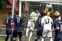 Fotbalistům Lanžhota vstup do nového ročníku nevyšel.