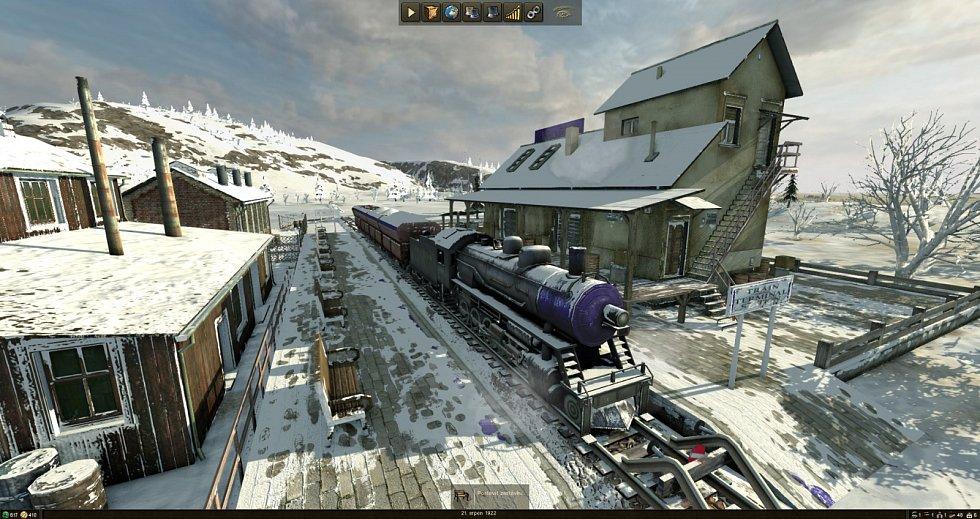 Mashinky - strategická hra s vlaky.