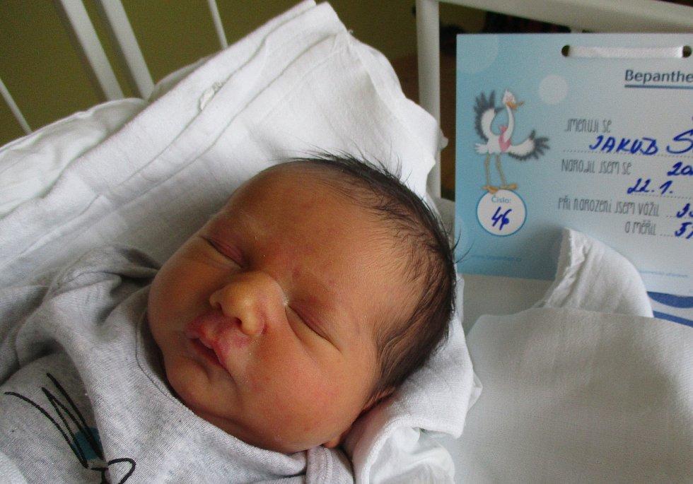 Jakub Šoupal, 22. 1. 2021, Břeclav, Nemocnice Břeclav, 3350 g, 51 cm