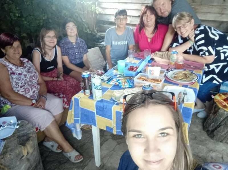 Společně proti samotě se na pikniku sešli lidé také v Sokolnici na Brněnsku.