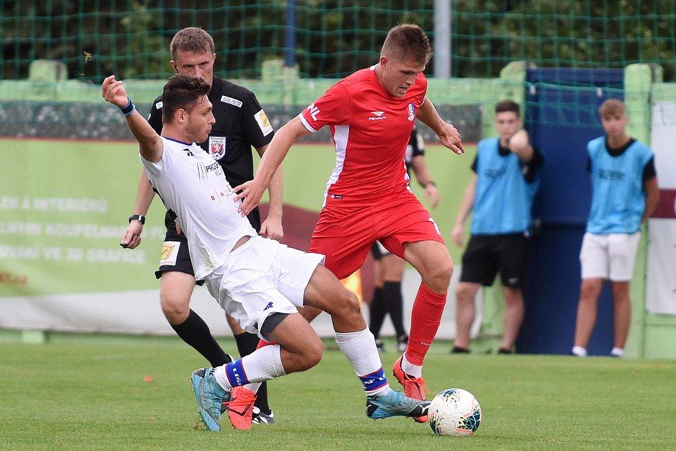 29.8.2020 - domácí SK Líšeň v bílém proti FK Blansko