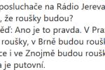 Vtip, co zaslala do redakce Deníku Rovnost čtenářka.