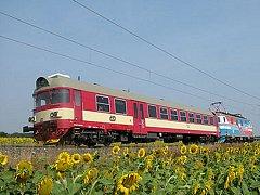 Zmodernizovaný příměstský vlak.