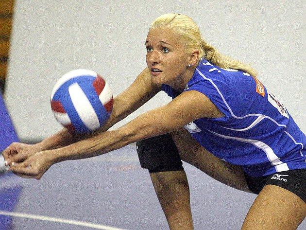 Brněnské libero Julie Jášová.