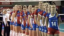 Volejbalistky klubu KP Brno Denisa Pavlíková a Květa Grabovská se zařadily do reprezentace.