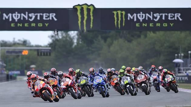MotoGP v Brně