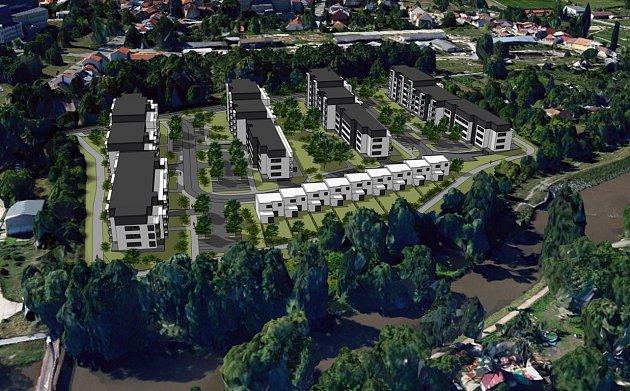 Na levém břehu Svitavy začne podle odhadu stavební firmy po roce 2020vznikat bydlení pro více než čtyři stovky lidí. Proti původně většímu projektu někteří obyvatelé brněnských Maloměřic a Obřan sepisovali loni petici.