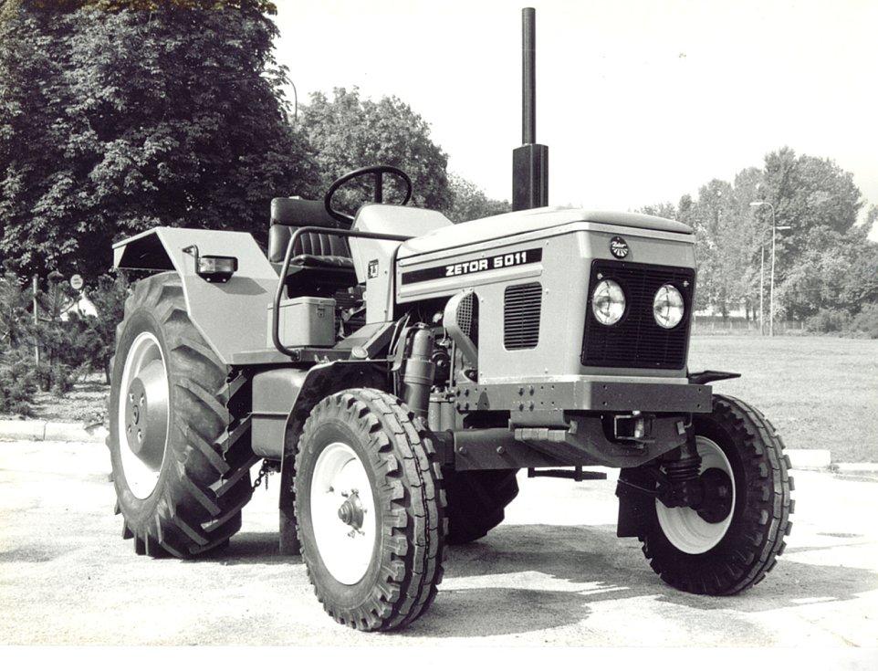 Zetor 5011 z roku 1980.