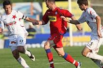 Pravý obránce 1. FC Brno František Dřížďal.