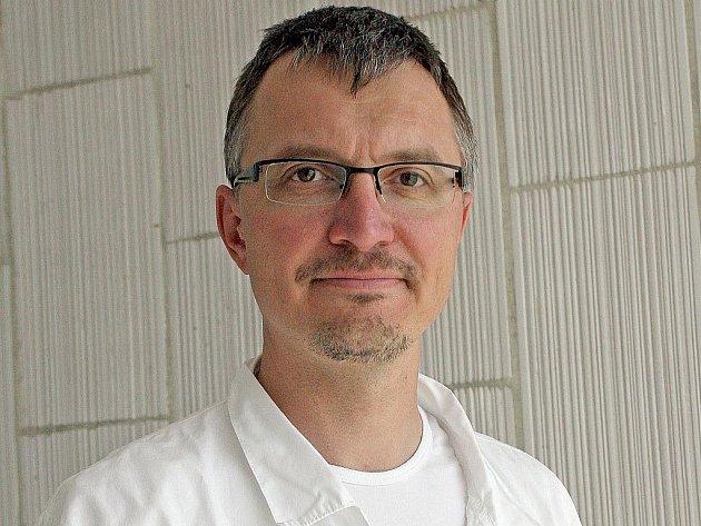 Gastroenterolog Jiří Dolina.