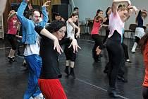 Na taneční a pěvecký konkurz pro obsazení rolí ve slavném muzikálu Kočky dorazilo téměř tři sta zájemců.