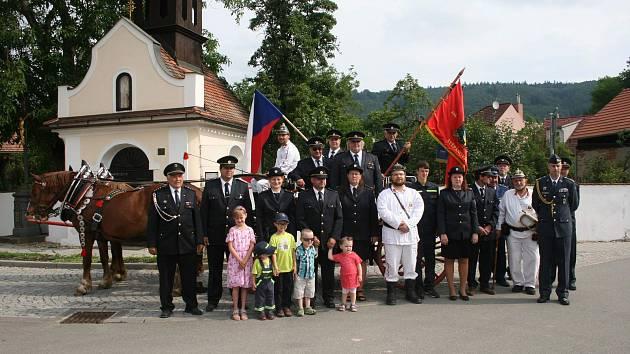 Dobrovolní hasiči ze Štěpánovic na Brněnsku slaví 120 let založení,.