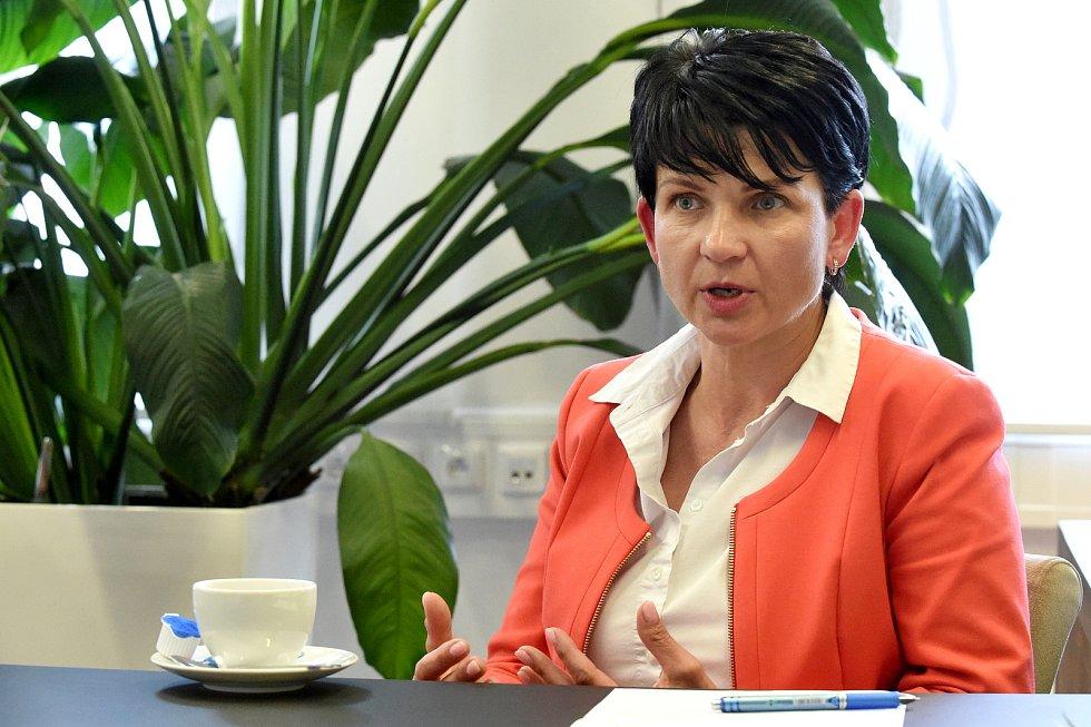 Ředitelka Zdravotnické záchranné služby Jihomoravského kraje Hana Albrechtová