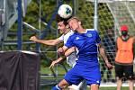 2.6.2020 - 20 kolo F:NL mezi domácí SK Líšeň v bílém a FC Vysočina Jihlava