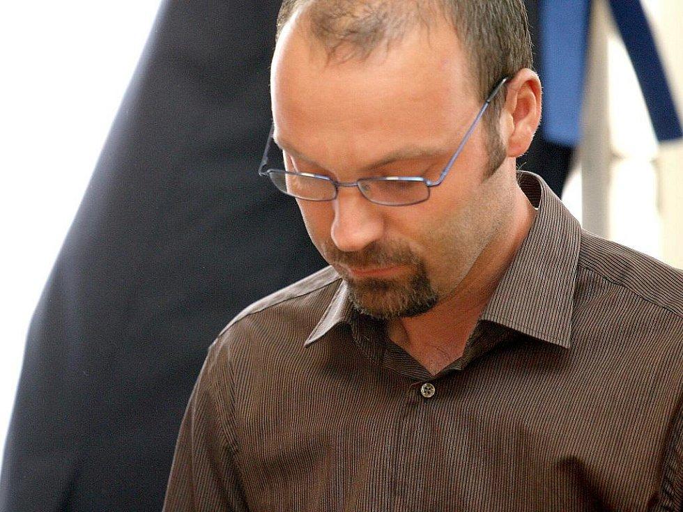 Patrik Kloc u brněnského soudu.