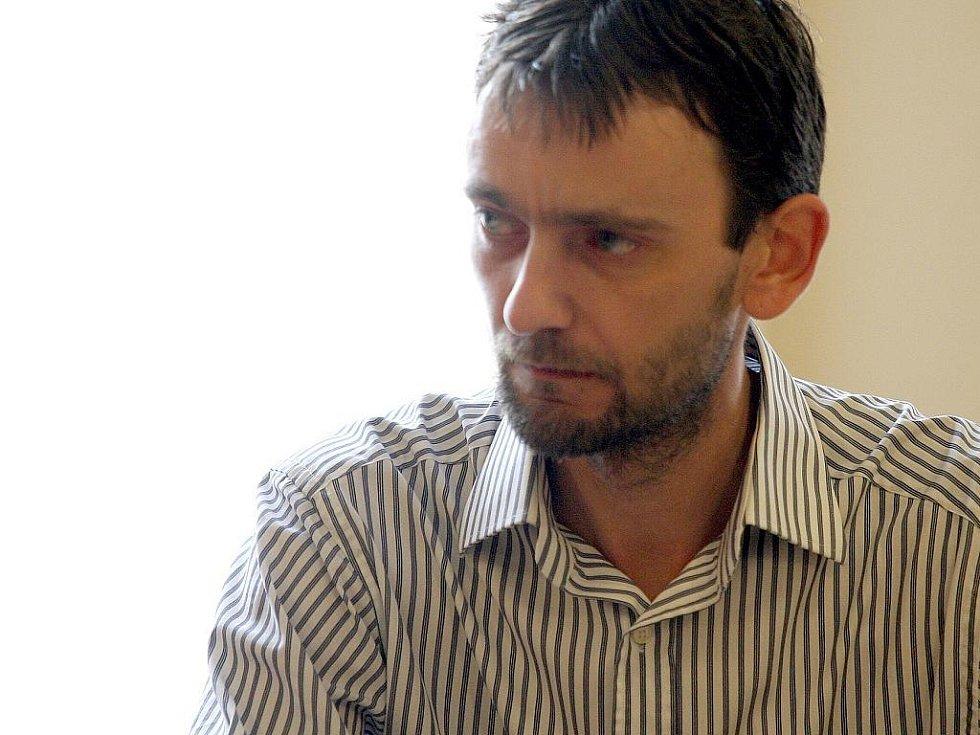 Bohuslav Hybler u brněnského soudu.