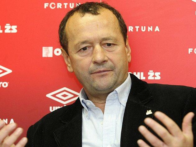 Sportovní ředitel brněnské Zbrojovky Zdeněk Kudela.