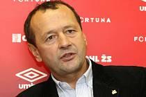 Bývalý sportovní ředitel brněnské Zbrojovky Zdeněk Kudela, dnes trenér Lhoty.
