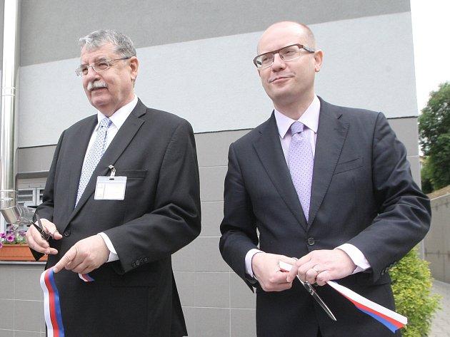 Premiér Bohuslav Sobotka otevřel v úterý v Brně Národní centrum pro kybernetickou bezpečnost.
