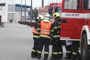 Kvůli nahlášené bombě v nákupním centru Olympia nedaleko Brna policie evakuovala 3500 lidí. Ilustrační foto.