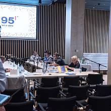 Nový velký nahrávací sál pojme až osmdesát diváků. Podle architekta se do něj vejdou i středně velká hudební tělesa jako komorní orchestr nebo folklórní soubory.
