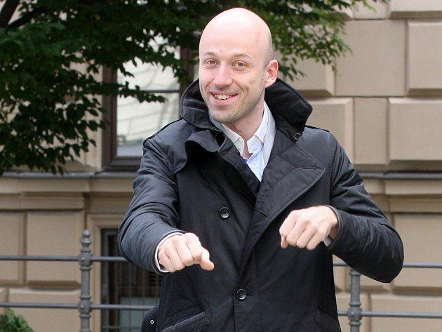 Předseda sdružení Brno na kole Michal Šindelář.