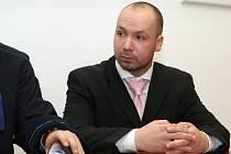 Richard Kočí před Městským soudem v Brně.