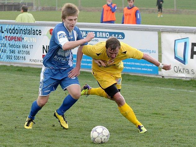 Fotbalisté Rosic prohráli se Zábřehem 2:4.