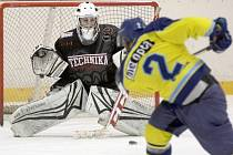 Hokejisté Techniky podlehli doma Přerovu 0:4.