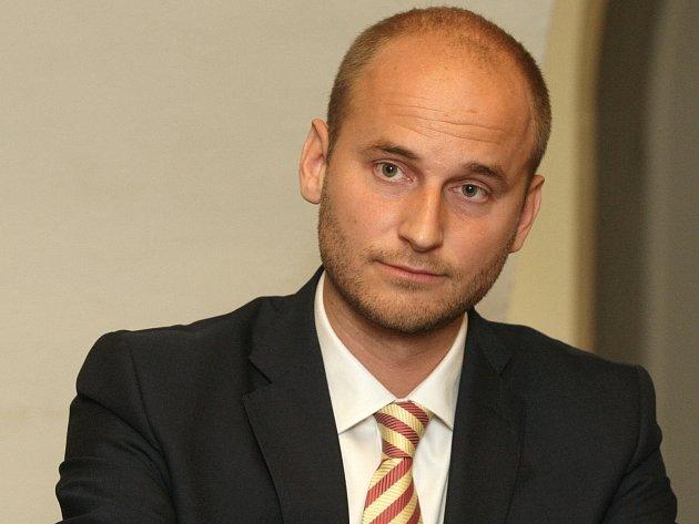 Jihomoravský zastupitel David Macek.