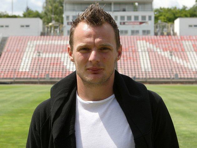 Fotbalista Jakub Řezníček.