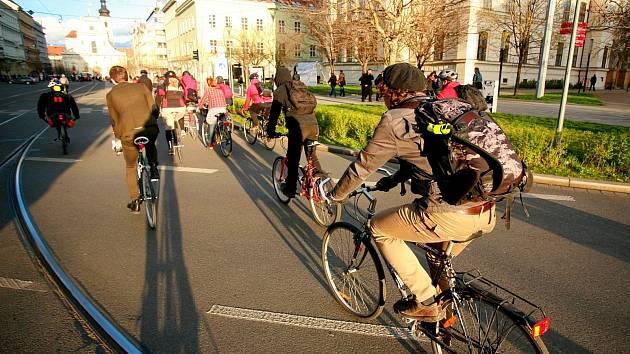 První brněnská cyklojízda roku 2014.