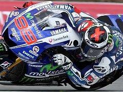 Motocyklový závodník Jorge Lorenzo.