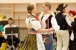 Krojovaný ples na výstavišti.