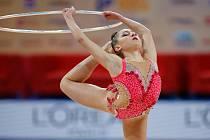 Moderní gymnastka Gaia Garoffolo se představí v Brně na závodu Tart Cupu.