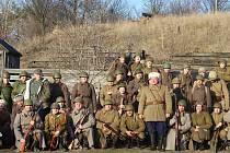 Bitvu u Narvy v roce 1944 si v únoru 2020 připomněli v Army Parku v Ořechově na Brněnsku.