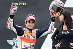 O rok později vyhrál Márquez na Masarykově okruhu také závod MotoGP.