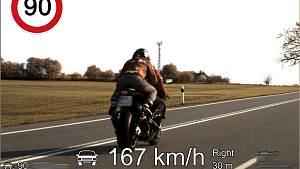 Policisté na jihu Moravy měřili rychlost