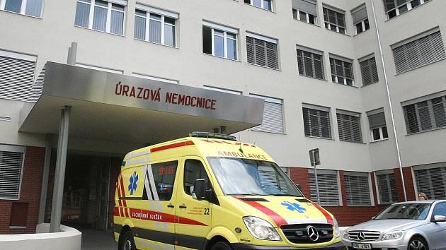 Úrazová nemocnice v Brně - ilustrační fotografie.